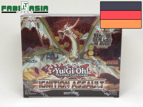 YuGiOh! Ignition Assault Display German