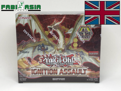 YuGiOh! Ignition Assault Display English