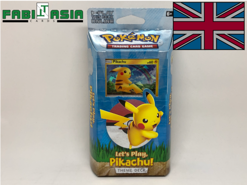 Pokémon Themedeck Let's Play, Pikachu! English