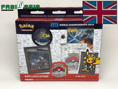 Pokémon World Championship Deck Fire Box Englisch