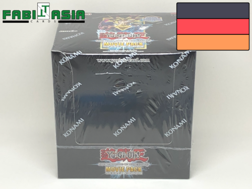 YuGiOh! The Dark Side of Dimensions Movie Pack Secret Edition Display German