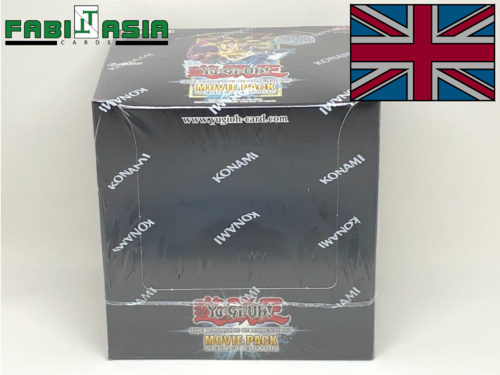 YuGiOh! The Dark Side of Dimensions Movie Pack Secret Edition Display English