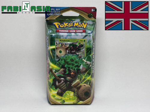 Pokémon SWSH01 Themedeck Rillaboom English