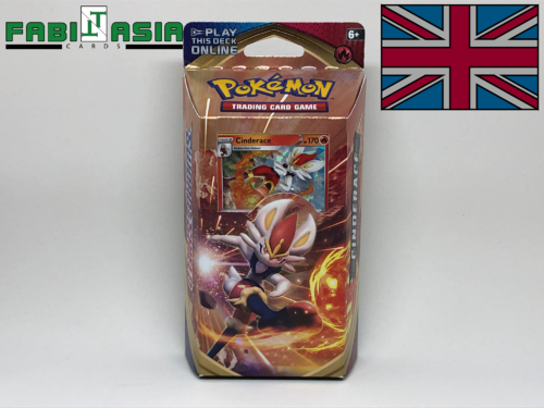 Pokémon SWSH01 Themedeck Cinderace English