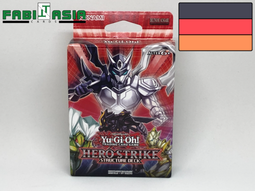 YuGiOh! Structure Deck: Hero Strike Deutsch