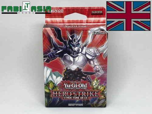 YuGiOh! Structure Deck: Hero Strike Englisch