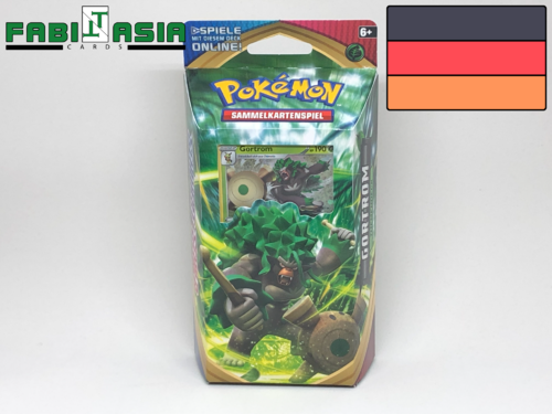 Pokémon SWSH01 Themedeck Rillaboom German