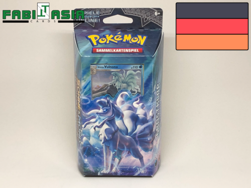 Pokémon SM13 Themedeck Luminous Frost German
