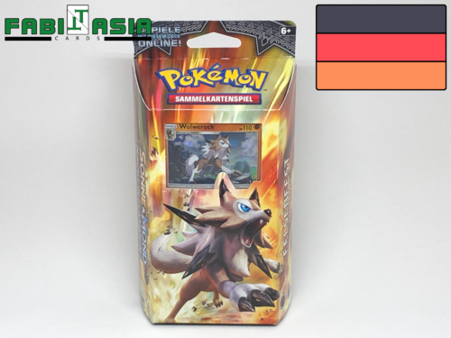 Pokémon SM13 Themedeck Rock Steady German