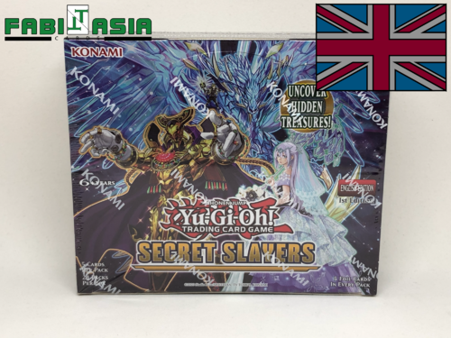 YuGiOh! Secret Slayers Display English