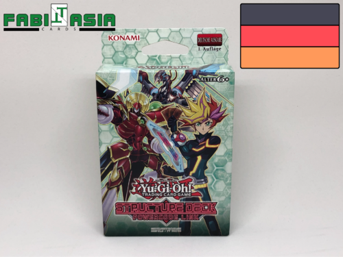 YuGiOh! Structure Deck: Powercode Link Deutsch