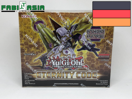 YuGiOh! Eternity Code Display German