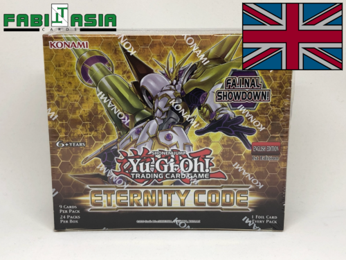 YuGiOh! Eternity Code Display English
