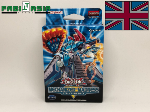 YuGiOh! Structure Deck: Mechanized Madness English
