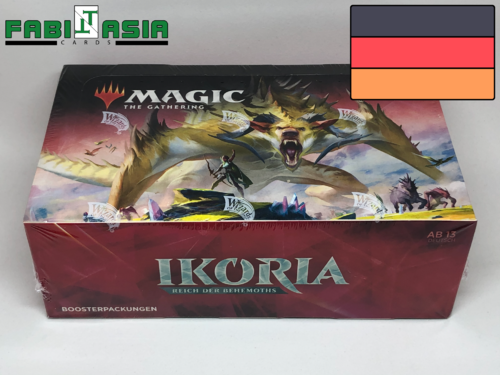 Magic Ikoria: Lair of Behemoths Display Deutsch