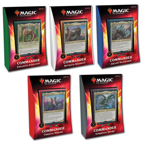 Magic Ikoria Commander Deck Set Italian