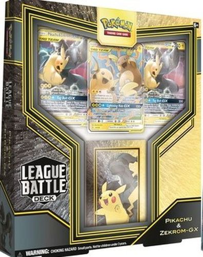 Pokémon Battle League Deck Pikachu & Zekrom GX Englisch