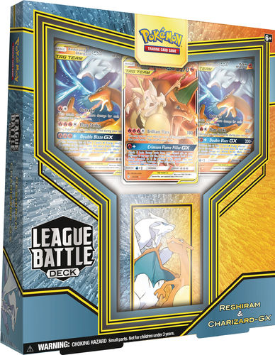 Pokémon Battle League Deck Reshiram & Glurak GX Englisch