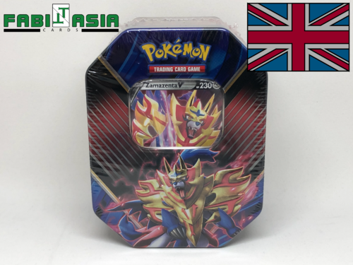Pokémon Tin 2020 Zamazenta V English