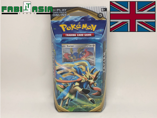 Pokémon SWSH02 Themedeck Zacian English