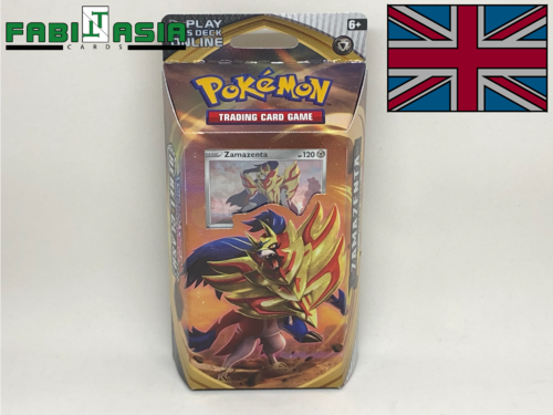 Pokémon SWSH02 Themedeck Zamazenta English