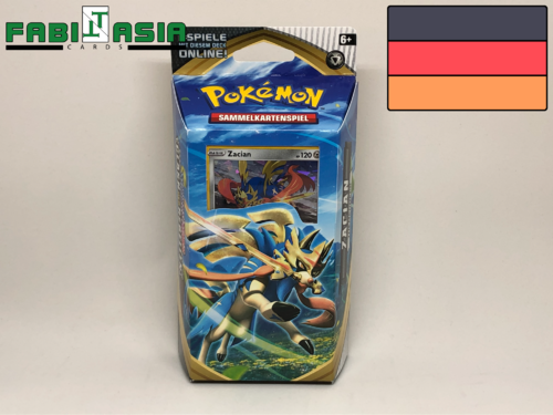 Pokémon SWSH02 Themedeck Zacian German