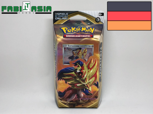 Pokémon SWSH02 Themedeck Zamazenta German