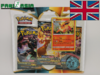 Pokémon SWSH03 Darkness Ablaze Flareon Blister English