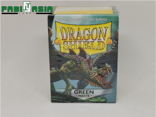 Dragon Shield Sleeves - Matte Green (100)