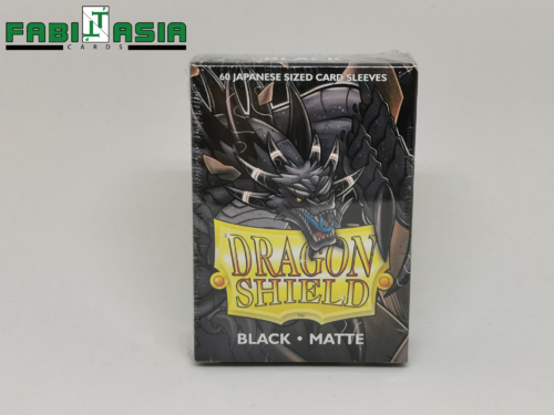 Dragon Shield Sleeves Small - Matte Black (60)