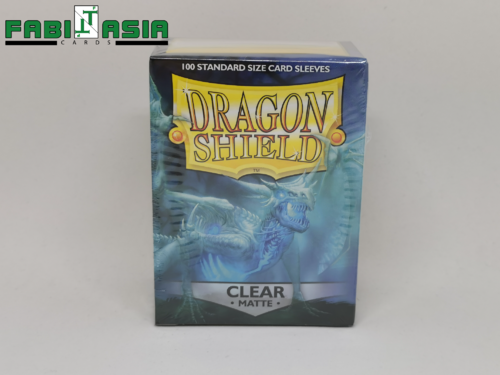 Dragon Shield Sleeves - Matte Clear (100)