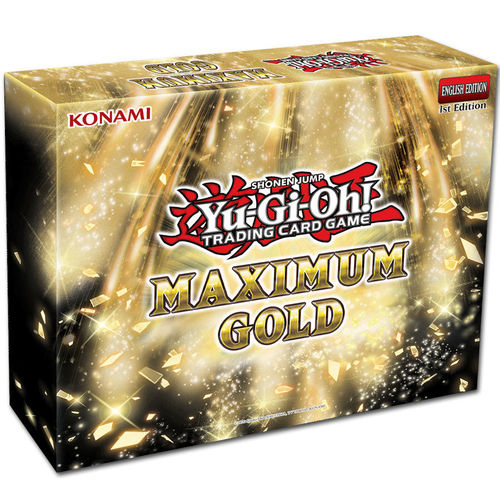 YuGiOh! Maximum Gold Mini-Box English