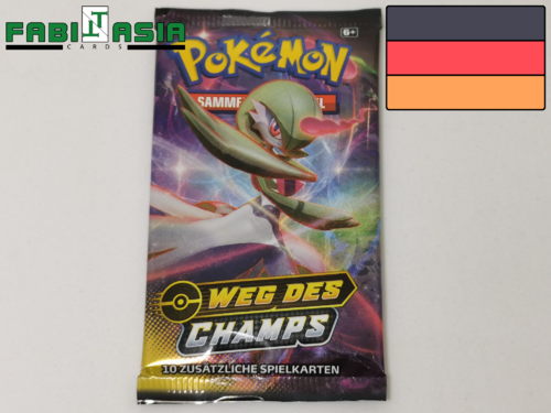Pokémon SWSH Weg des Champs Booster Deutsch