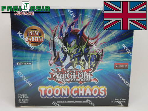 YuGiOh! Toon Chaos Display English (unlimited)