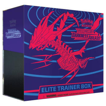 Pokémon SWSH03 Flammende Finsternis Trainerbox Deutsch