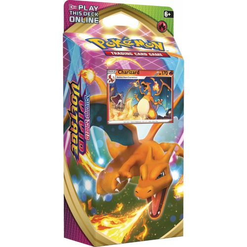 Pokémon SWSH04 Vivid Voltage Themedeck Charizard German
