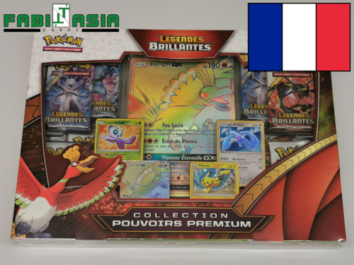 Pokémon SM Shining Legends Premium Powers Collection French