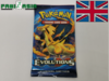 Pokémon XY12 Evolution Booster Englisch