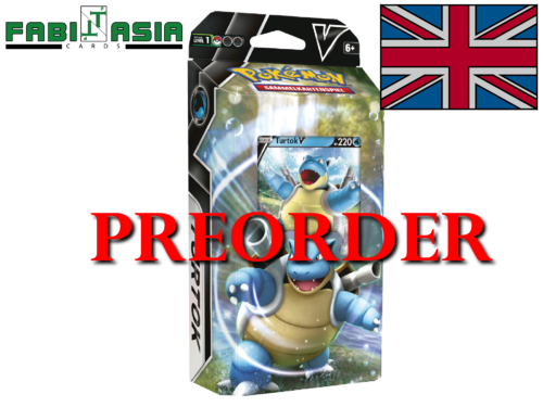 Pokémon Battle Deck Blastoise V English